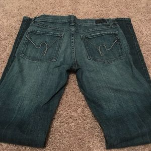 Citizens of Humanity Jeans. Bootcut size 27.